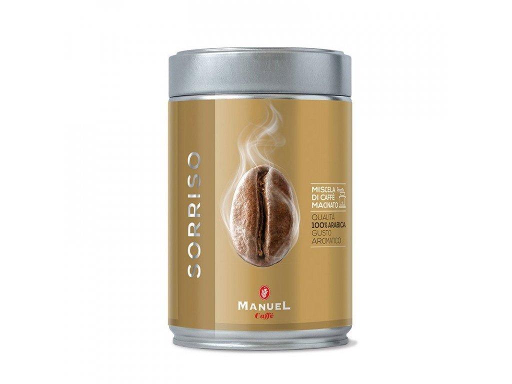 Manuel Caffé - Sorriso mletá káva 250 g